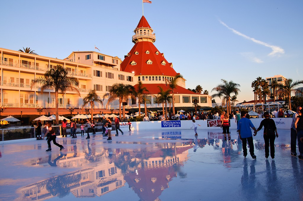Ice skating San Diego