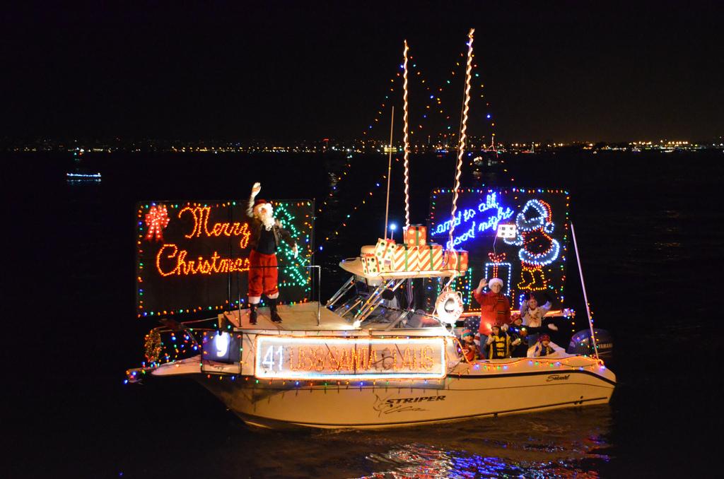 San Diego Bay Boat Parade of Lights