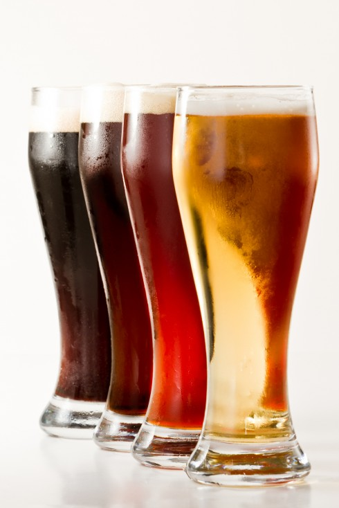 Four Beer Varieties