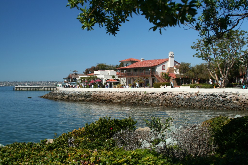 Seaport Village Shopping San Diego